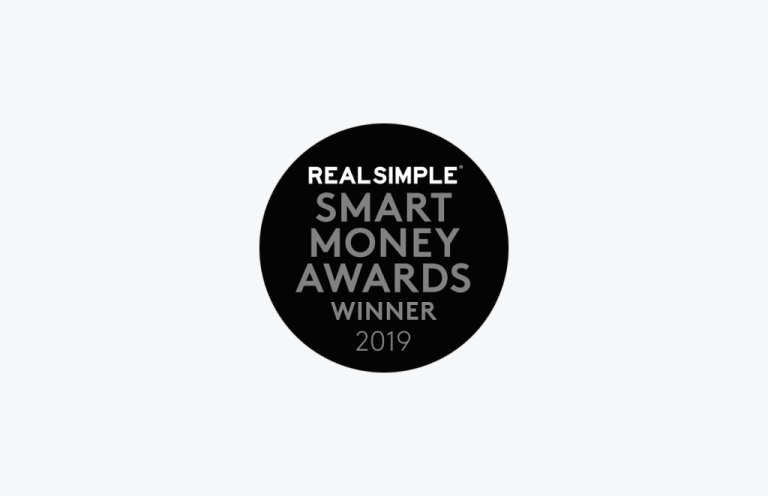 Real Simple Smart Money Awards Winner Logo